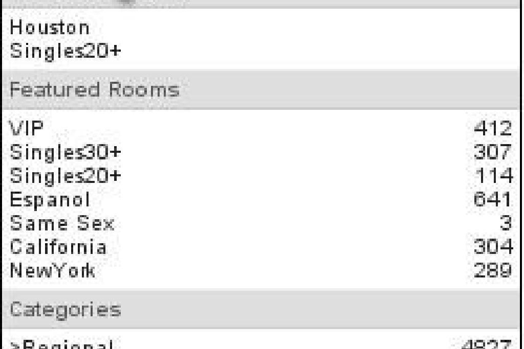 populiariausi pokalbių kambariai